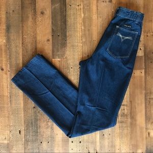 NWT '70s Fancy Props High Waist Straight Leg Jeans